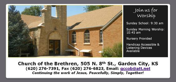 ... Garden City Church Of The Brethren ...