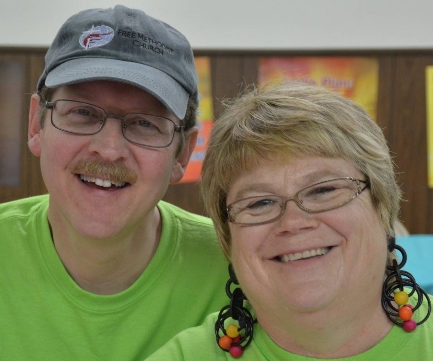 Supt. Mike Hopper and Pastor Janet Hopper