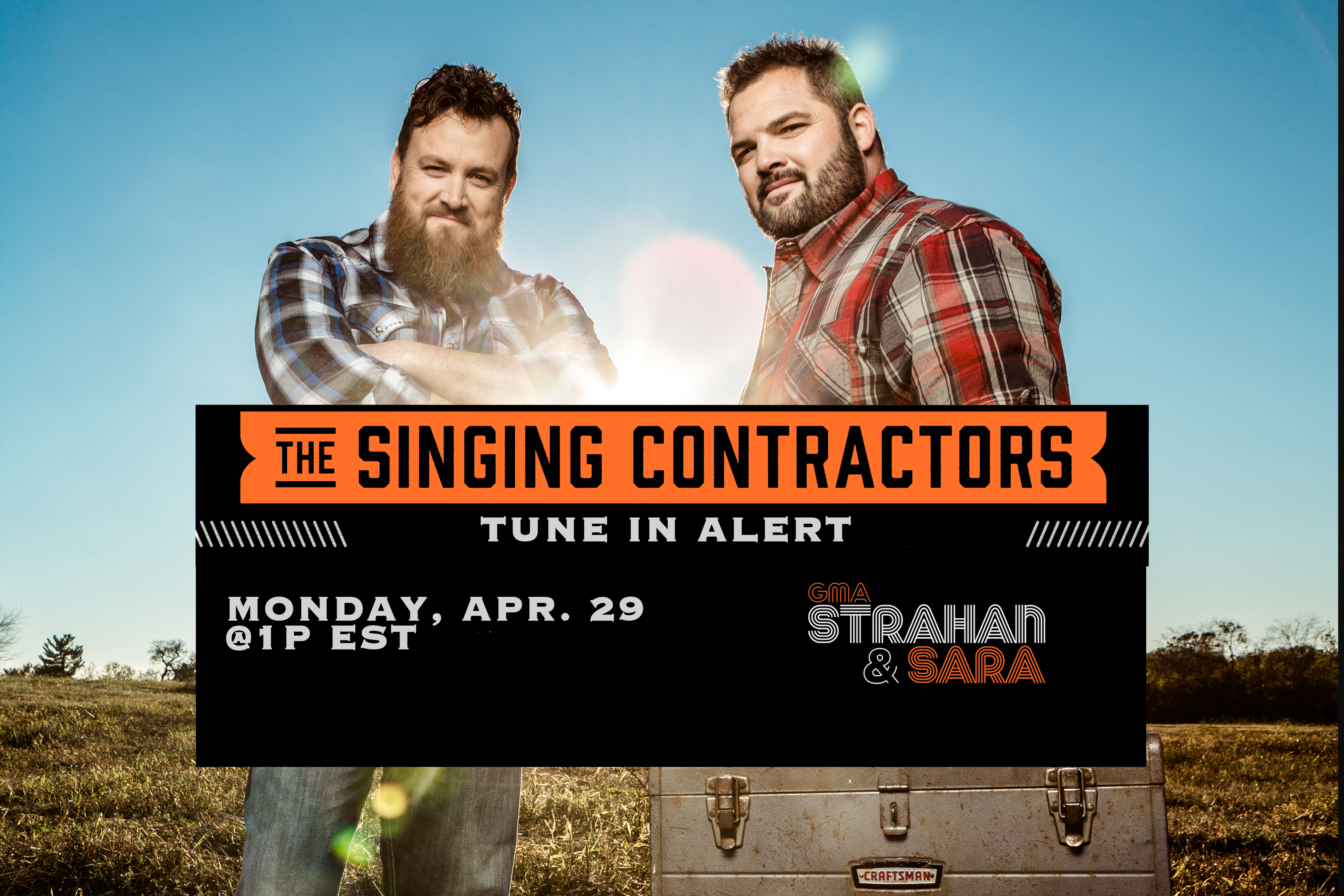 The Singing Contractors - A pair of contractors singing to